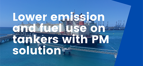Lower emission and fuel use